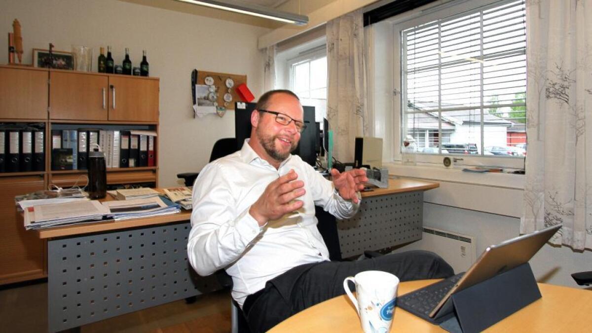 Ordfører Bengt Halvard Odden (Ap) i Hjartdal kommune.