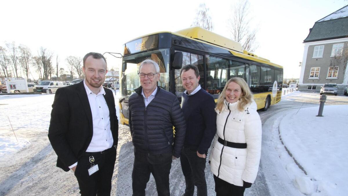 Sven Tore Løkslid (Ap) Telemark, Kjell A. Sølverød (Sp) Siljan, Robin Kåss (Ap) Porsgrunn og Hedda Foss Five (Ap) Skien.