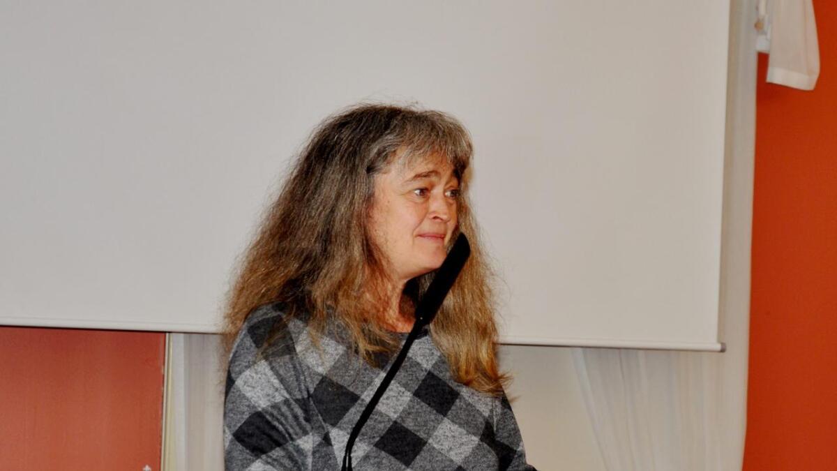 Siren Thorvaldsen er Høyres andrekandidat.