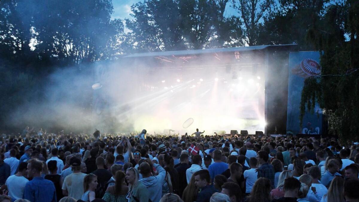 Det kan bli to praktfulle festivaldager på Groos tirsdag og onsdag.