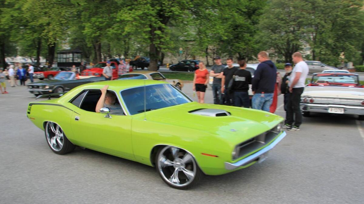 Ein 1970-modell av Plymouth Barracuda eigd av Linda Sivertsen frå Bergen stakk av med andreplassen som publikumsfavoritt.