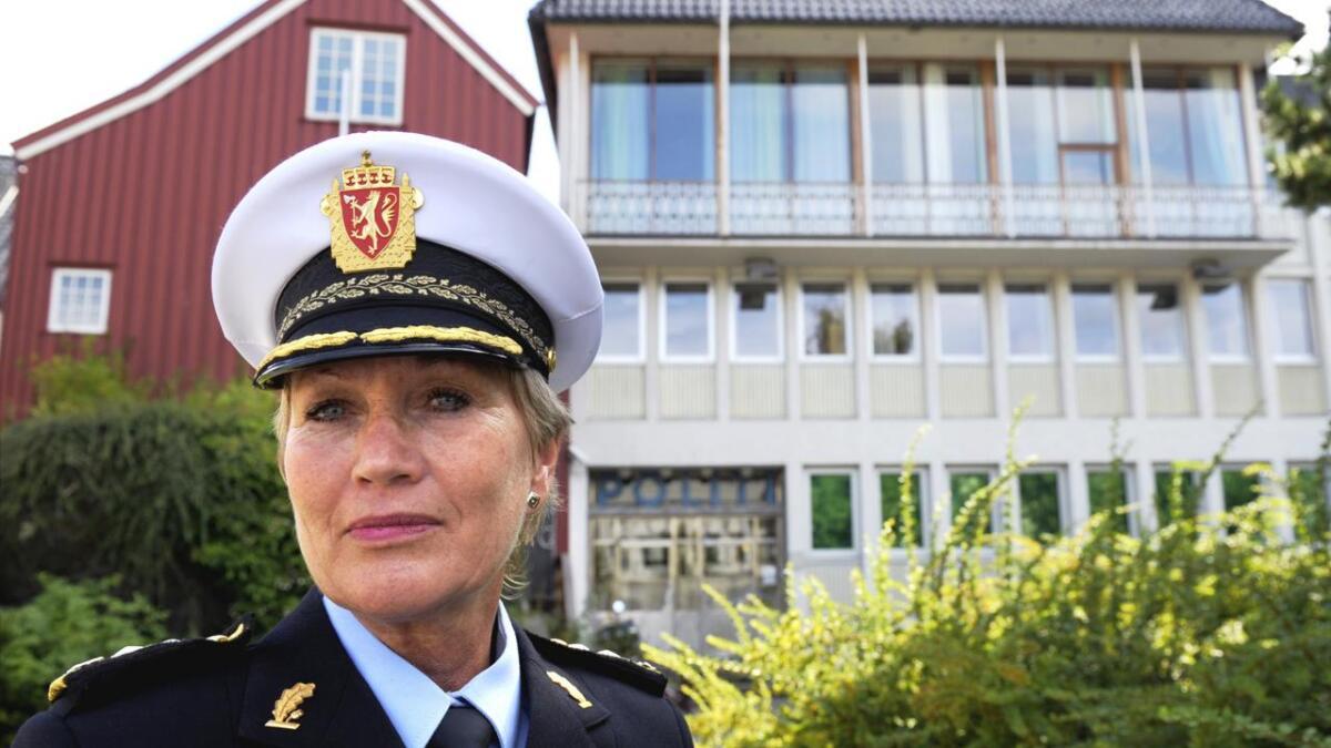 Politimester Kirsten Lindeberg