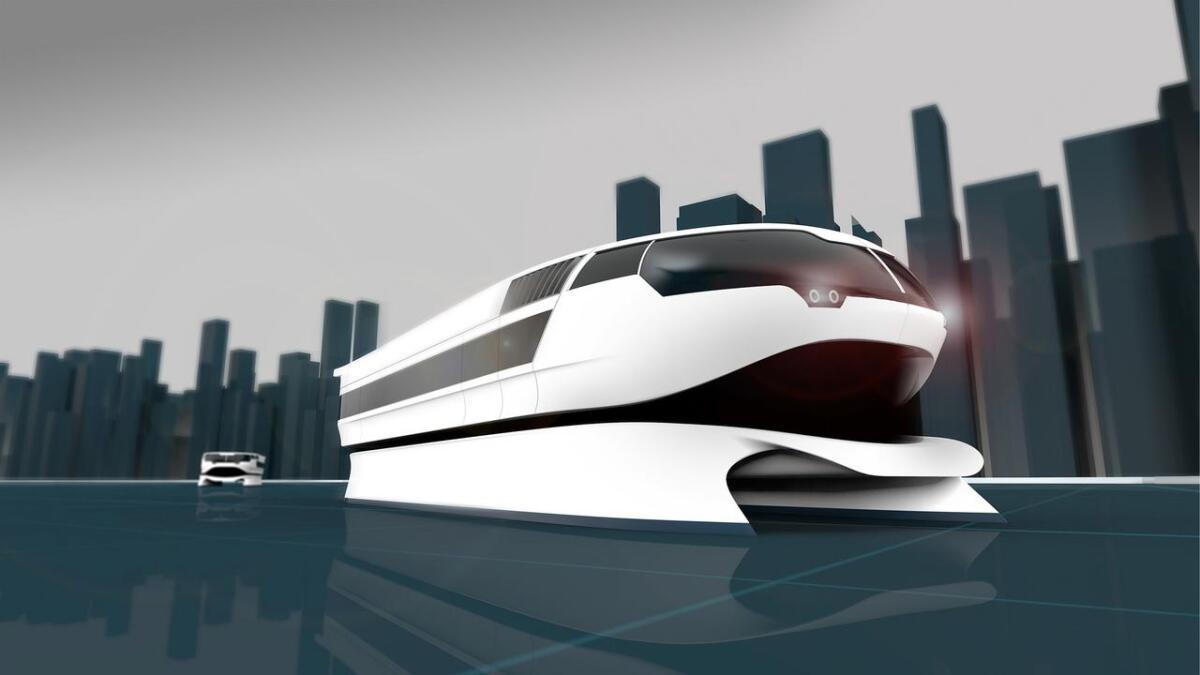 NCE Maritime CleanTech jobbar med å utvikla ein elektrisk passasjerbåt.