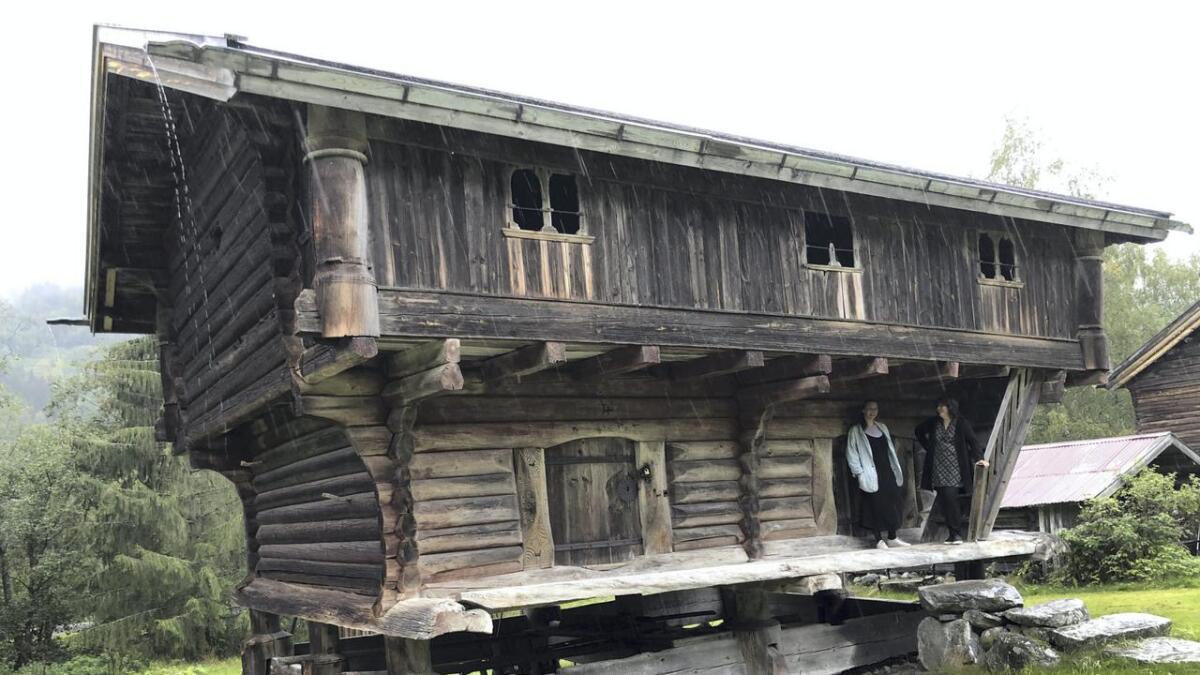 Langloftet her har ein sjeldan utforming, og er kanskje det siste i landet med denne type utforming.