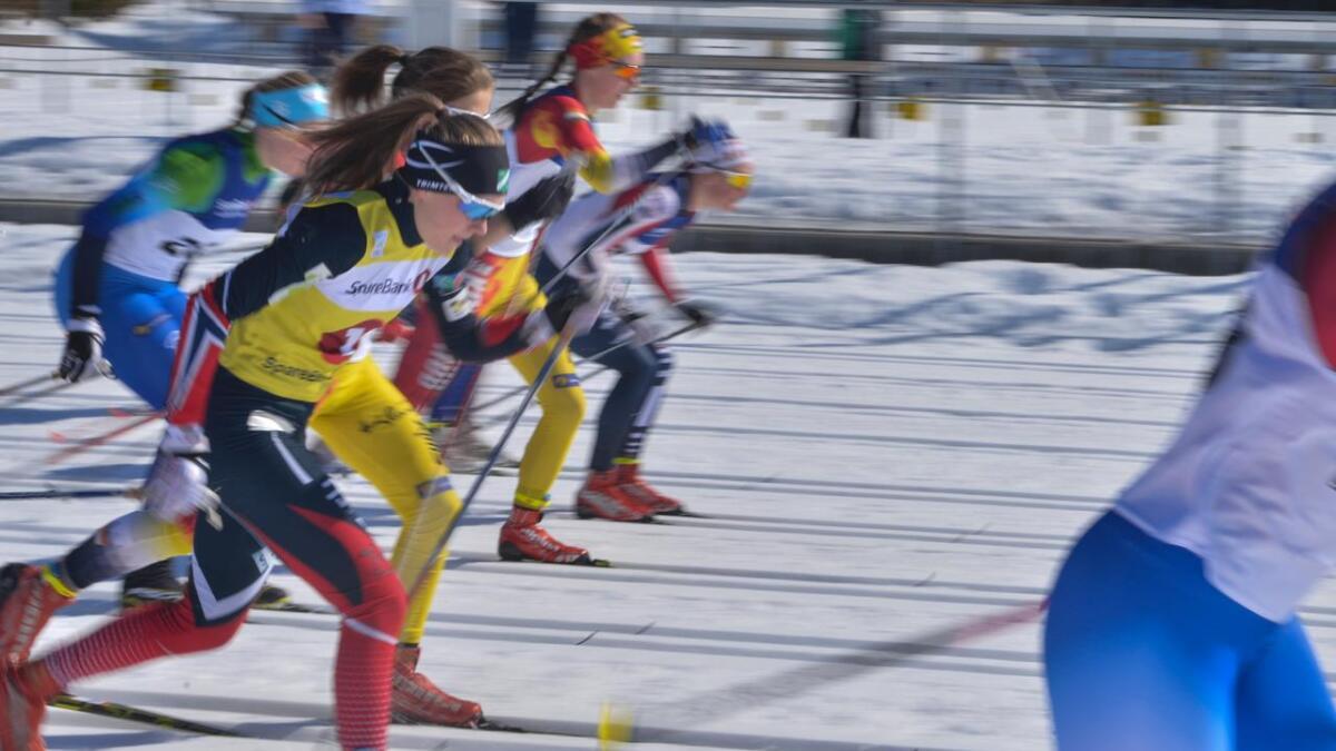 Marte Mikkelsplass vann si klasse K17 under Geilo Skifestival laurdag.