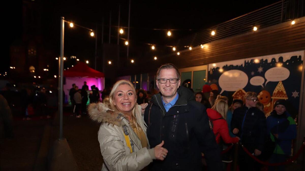 Det er november 2018 og Hove Music Festival er akkurat lansert. Det gledet både Benedikte Nilsen og Arendals-ordfører Robert Cornels Nordli.