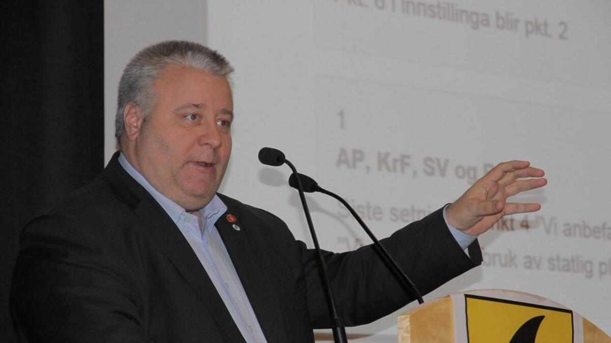 Frps Bård Hoksrud.