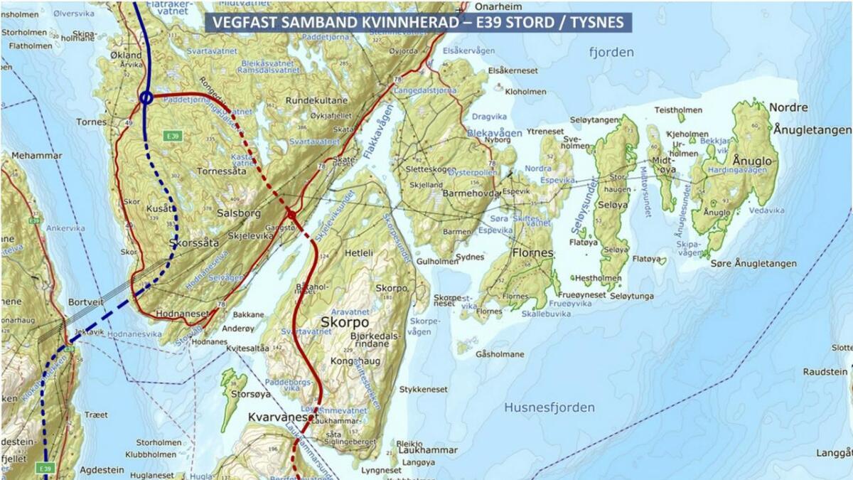 –  Min draum er at for oss som bur i Kvinnherad blir knytt saman med resten av Hordaland via Sunnfast, som igjen gir oss fast vegsamband via E39 både mot Bergen og Stavanger, skriv Tor Harald Bringedal.