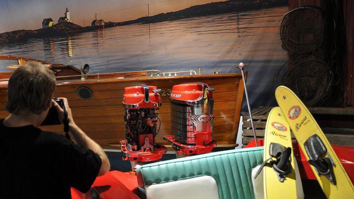 Herwa. Norges første plastbåt, laget av Herbert Waarum.