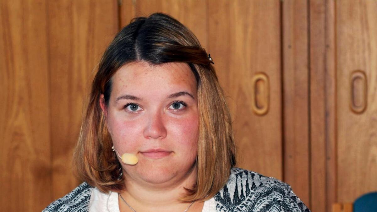 Mia Heimly (21) fra Senterpartiet blir den yngste varaordføreren i Lødingen kommunes historie.