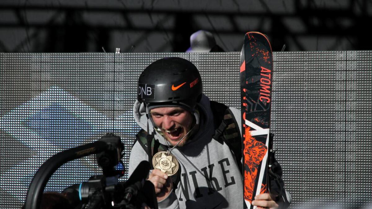 Andreas Håtveit er ein stor profil i freeskimiljøet, og har fleire X-Gamesmedaljer.