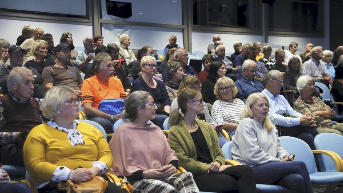 Over hundre møtte opp på valmøte i Ulvik.