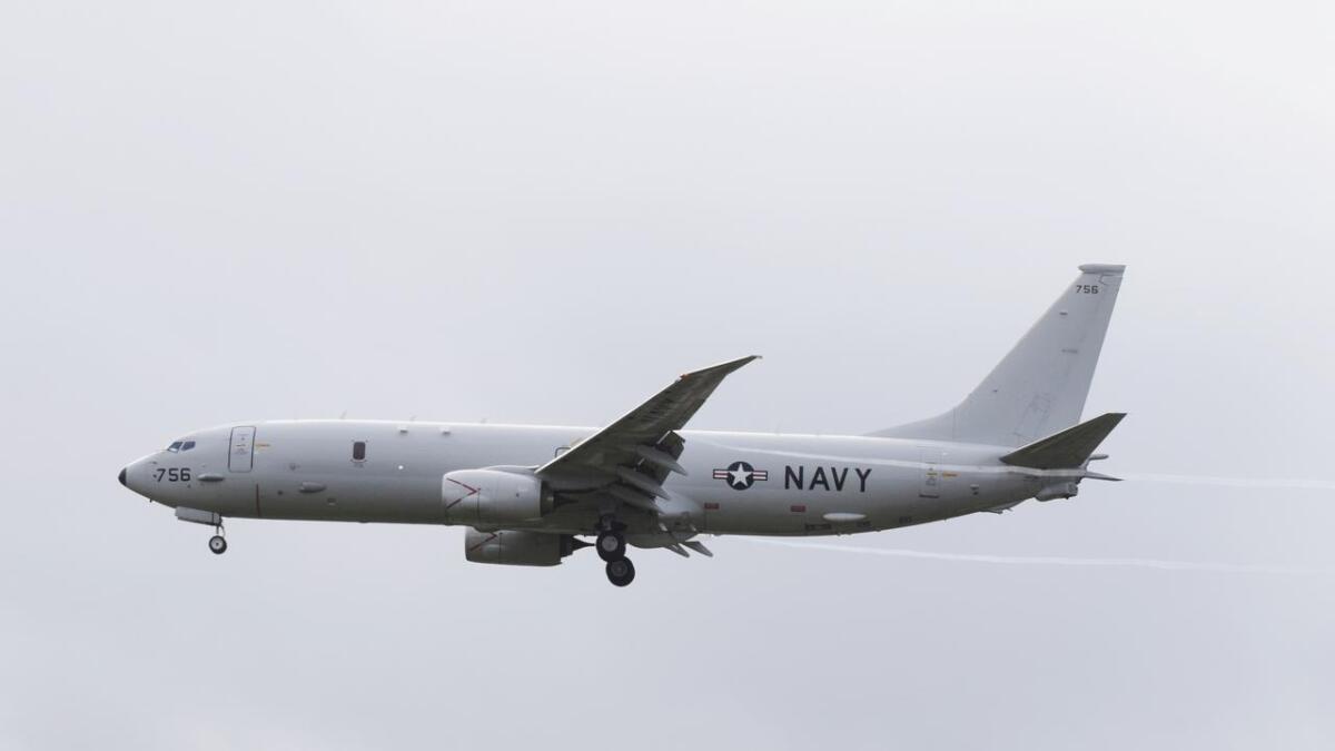 Forsvarets operative hovedkvarter (FOH) bekrefter overfor Bladet Vesterålen at tre amerikanske patruljefly er på Andøya. Det dreier seg ikke om øvelse denne gang. (Arkivfoto)