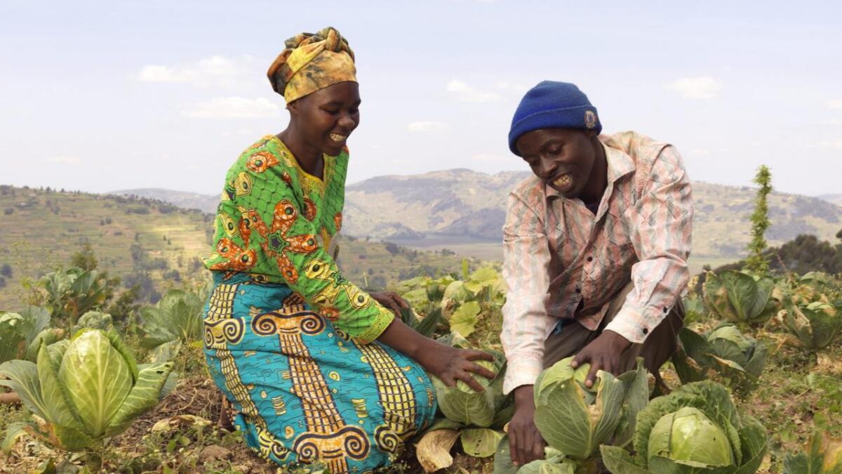 Bistand til kvinner i fattige land som treng å skapa arbeidsplassar og få eiga inntekt.