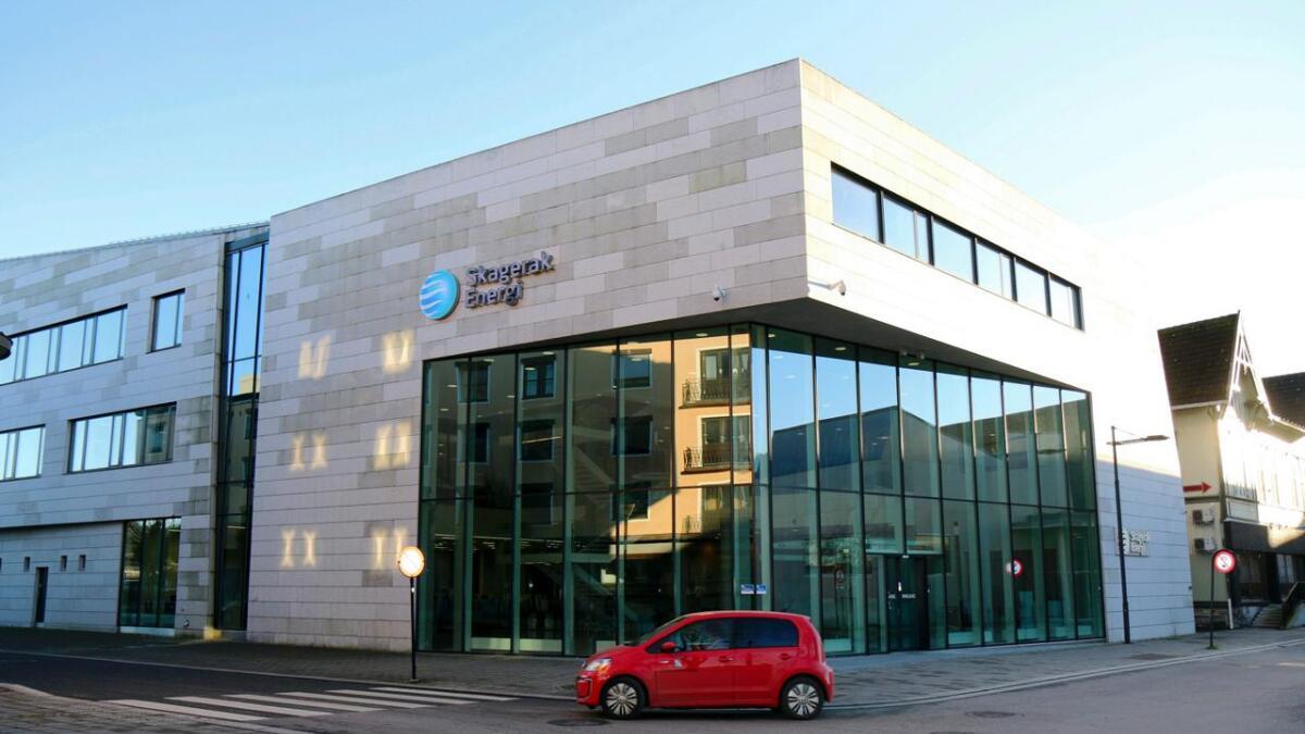 Skagerak Energis hovedkontor i Porsgrunn.