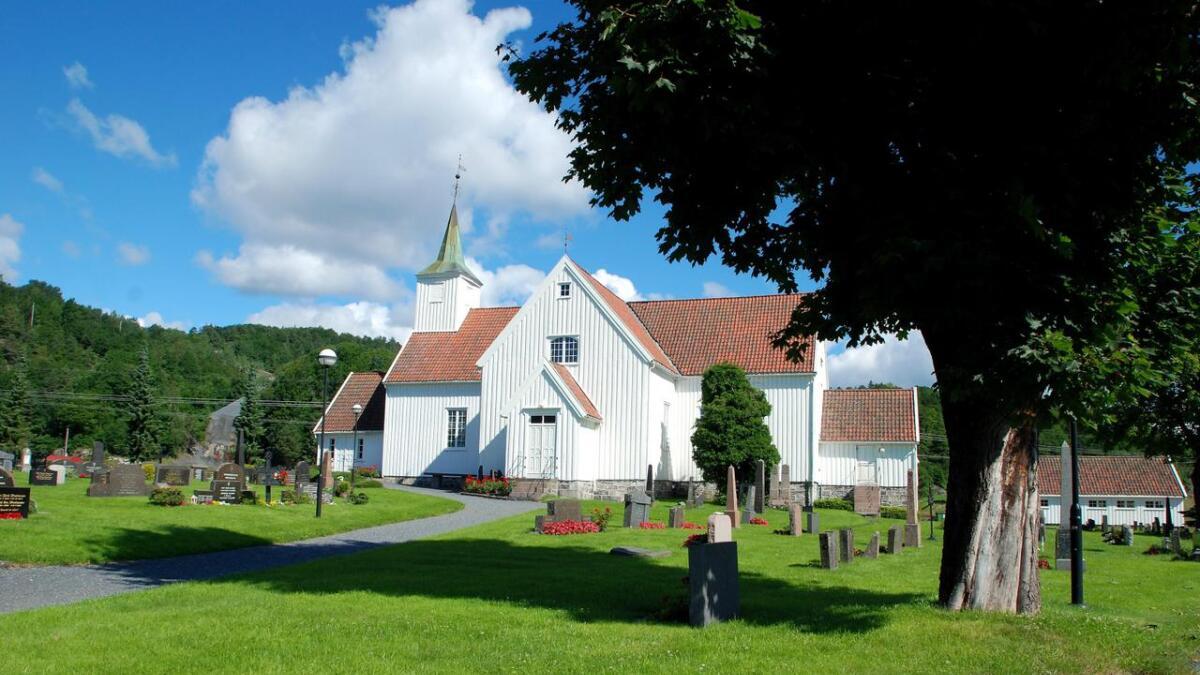 Det nærmer seg valg også i kirken. Her er Landvik kirke.