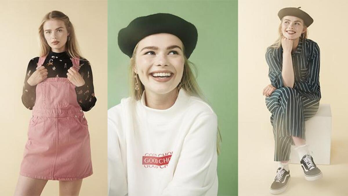 Åshild Ringhus er modell for den nye haustkampanjen til Monki.
