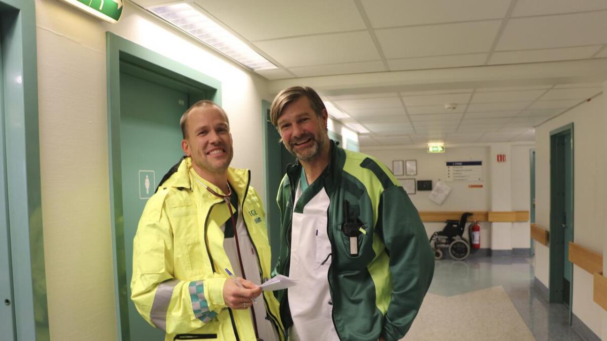 Kommuneoverlege Eystein Hauge er heilt klar i synet på at legekontoret i Granvin ikkje bør halda fram i nye Voss herand.