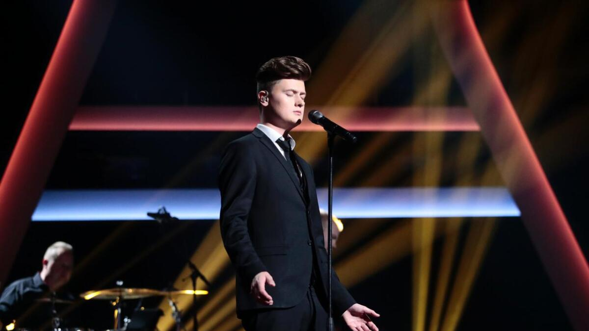 Edward Mustad ble nummer to i The Voice.