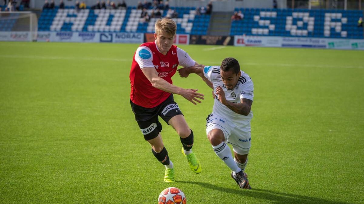 Ulrik Reinaldo Berglann og Arendal hadde tidvis god kontroll mot Egersunds IK, men på tampen ble det hektisk.