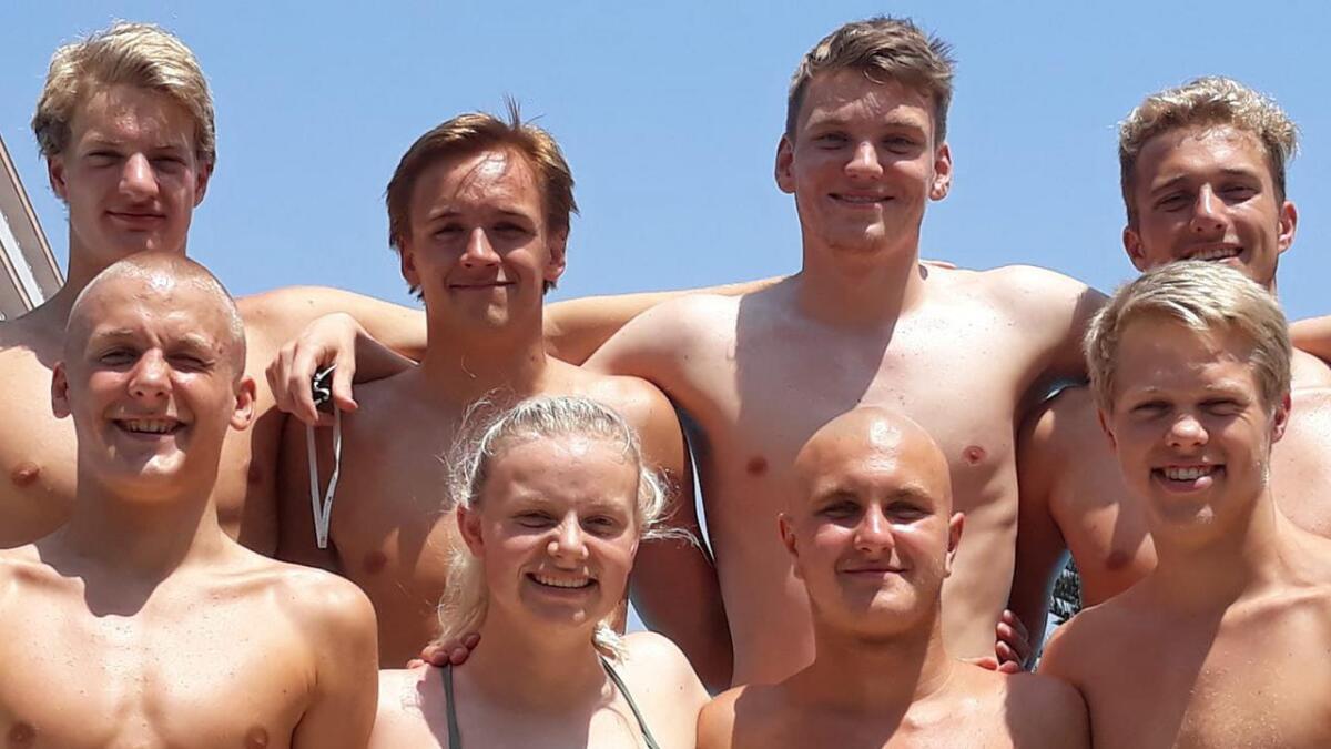 Birk Johansen, Juni Refstie, Ole Einar Ueland og Johannes Hope. Alle
