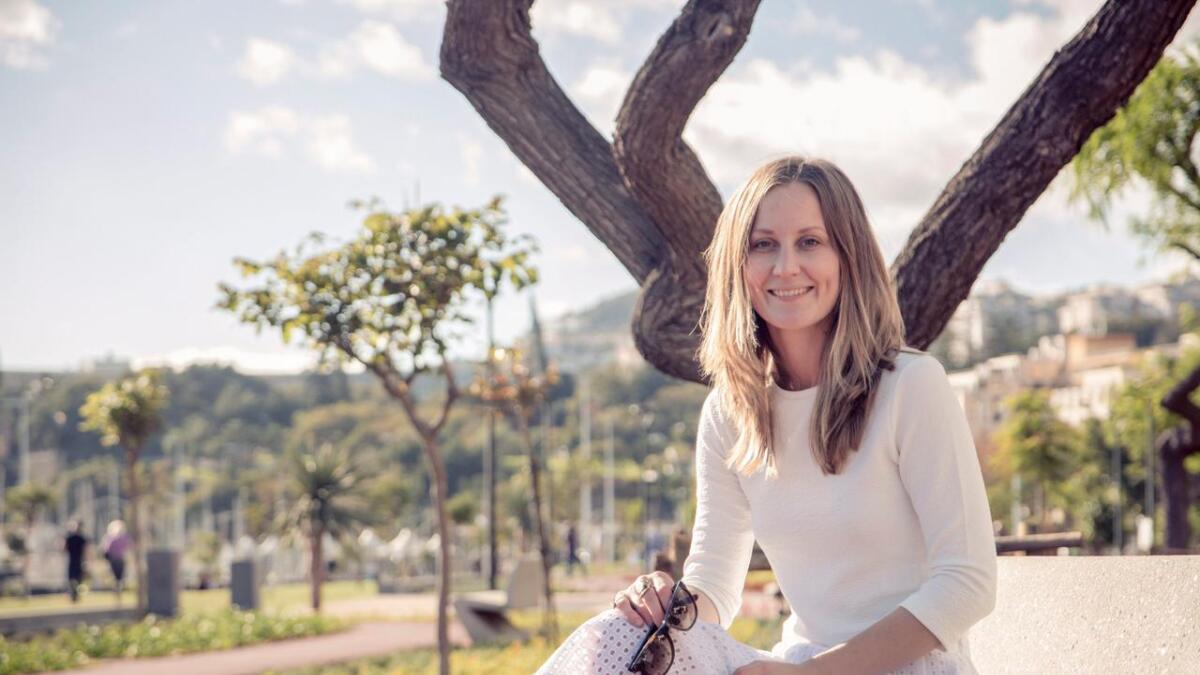 Marjit Vinjerui tilbringer 12 dager før jul i Funchal på Madeira før jul.