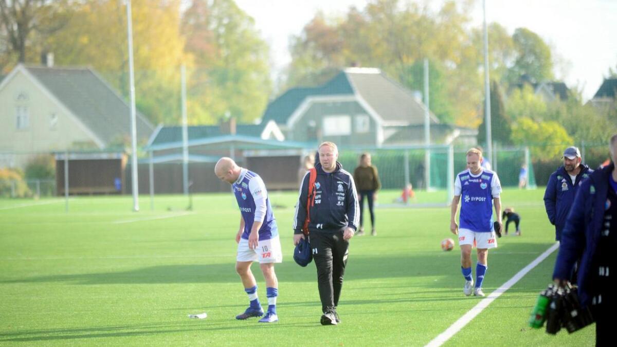 Storm-trener Petter Isaksen var litt skuffet etter poengdeling mot Vardeneset.
