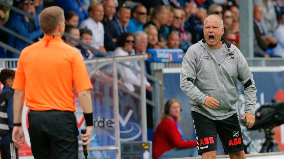 Dag-Eilev Fagermo innrømmer at det er tøft å være en utviklende og selgende klubb, og samtidig kjempe i toppsjiktet.
