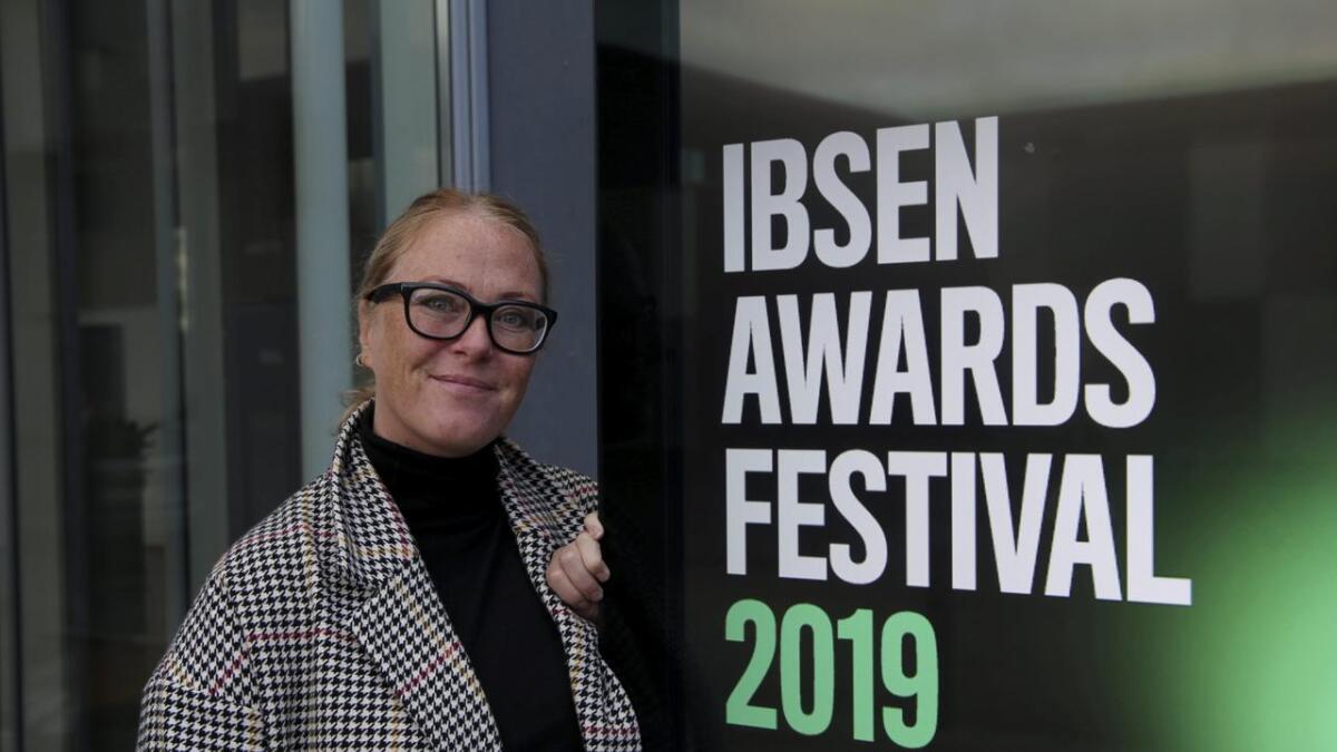 Hilde Guri Bohlin er klar for årets Ibsenfestival ved Teater Ibsen.