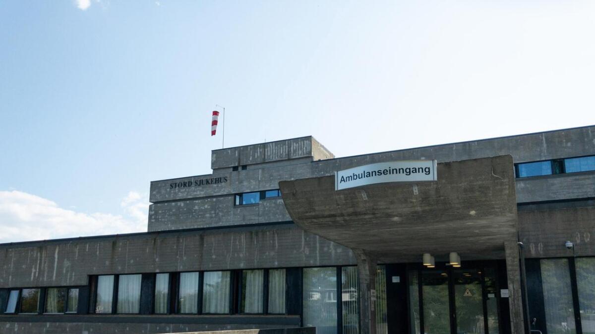 Eitt ventilasjonsanlegg på Stord sjukehus fekk problem i dag.