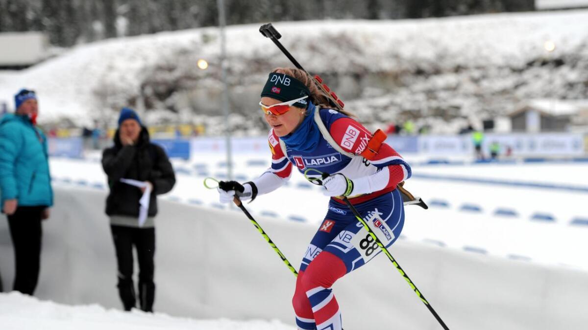 Hilde Fenne er ikkje mellom dei fire utøvarane som går for Noreg på normaldistansen.