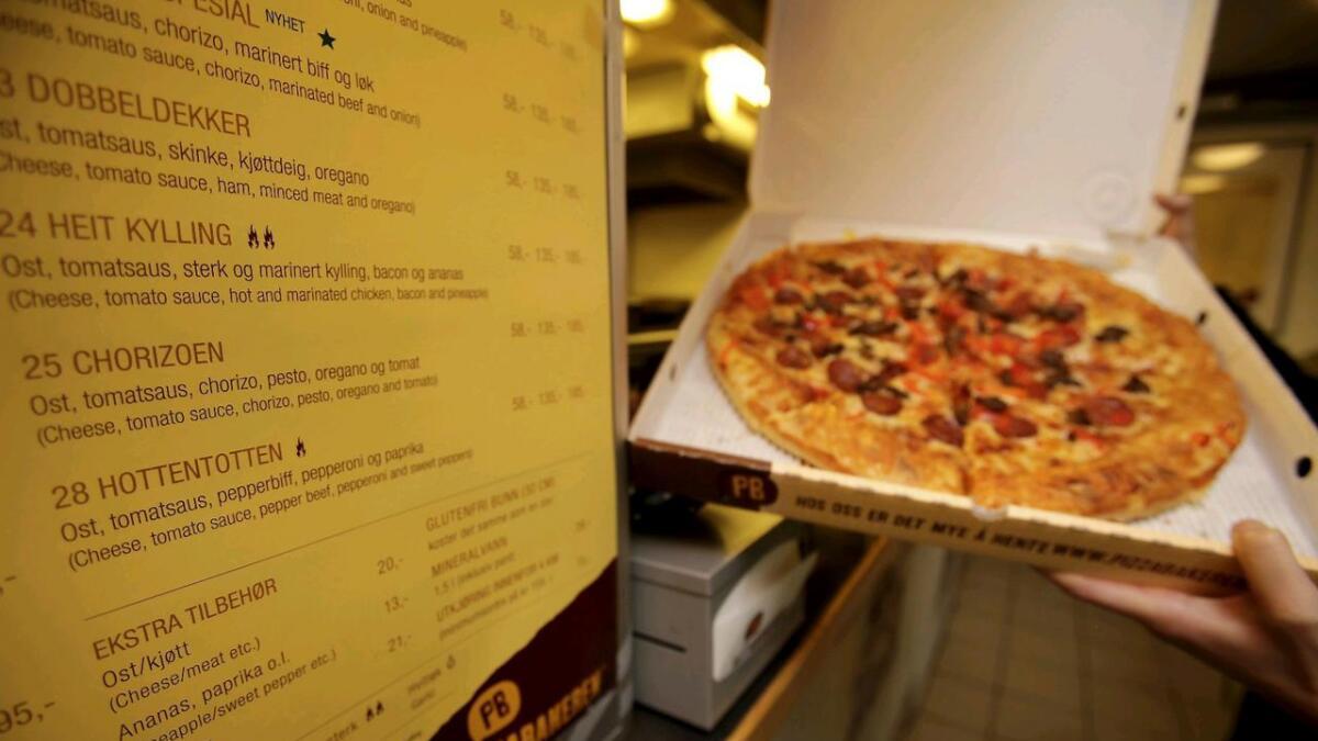 Nr. 28 hos Pizzabakeren heter «Hottentotten»
