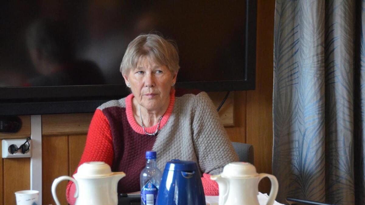 Leder i Levekårsutvalget Inger Turid Tonstad(KrF) sier hun er opprørt over uttalelsene til kultursjef Arnstein Håkonsen som ikke vil markedsføre Moonlights høstarrangement Våisen fordi han mener det ikke er forenlig med det kulturenheten står for. (Arkivfoto)