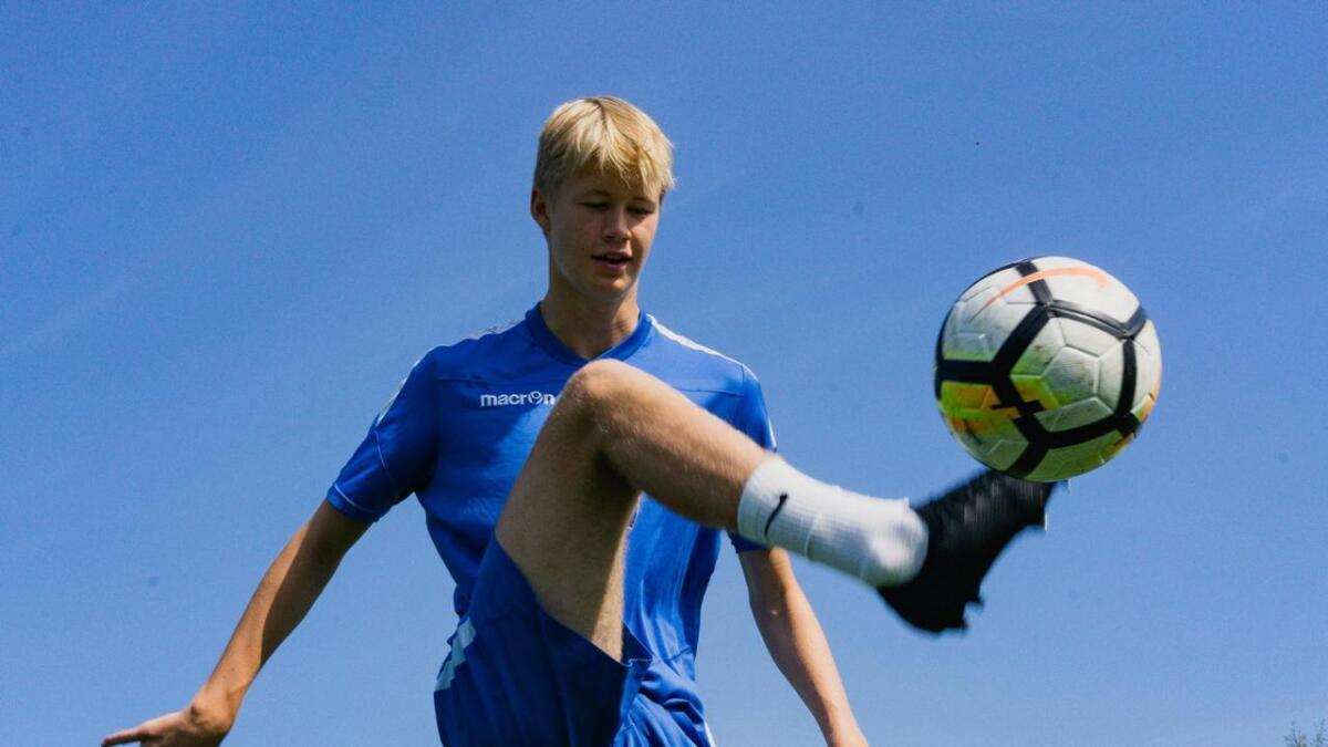 Jonas Skjerven Valland blir med G15-landslaget til Lofoten i slutten av månaden.