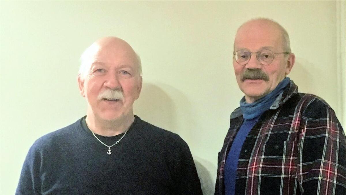 Johnny Torgersen (t.v.) og Christoffer Ellingsen.