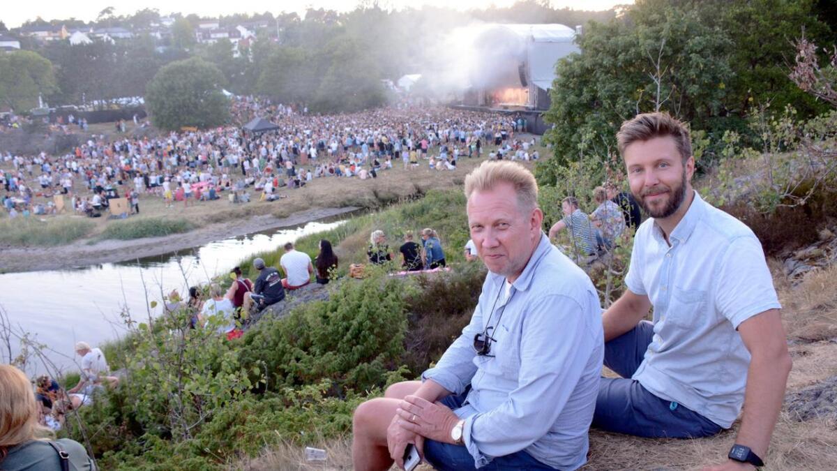 Mikal Vassbotn (t.h.) og Toffen Gundersen er begge fra Homborsund der Skral i sin tid startet opp i en                               hage, men bare Mikal har vært med fra oppstart. Nå er de klare for femte året på rad på Groos.Arkivbilde