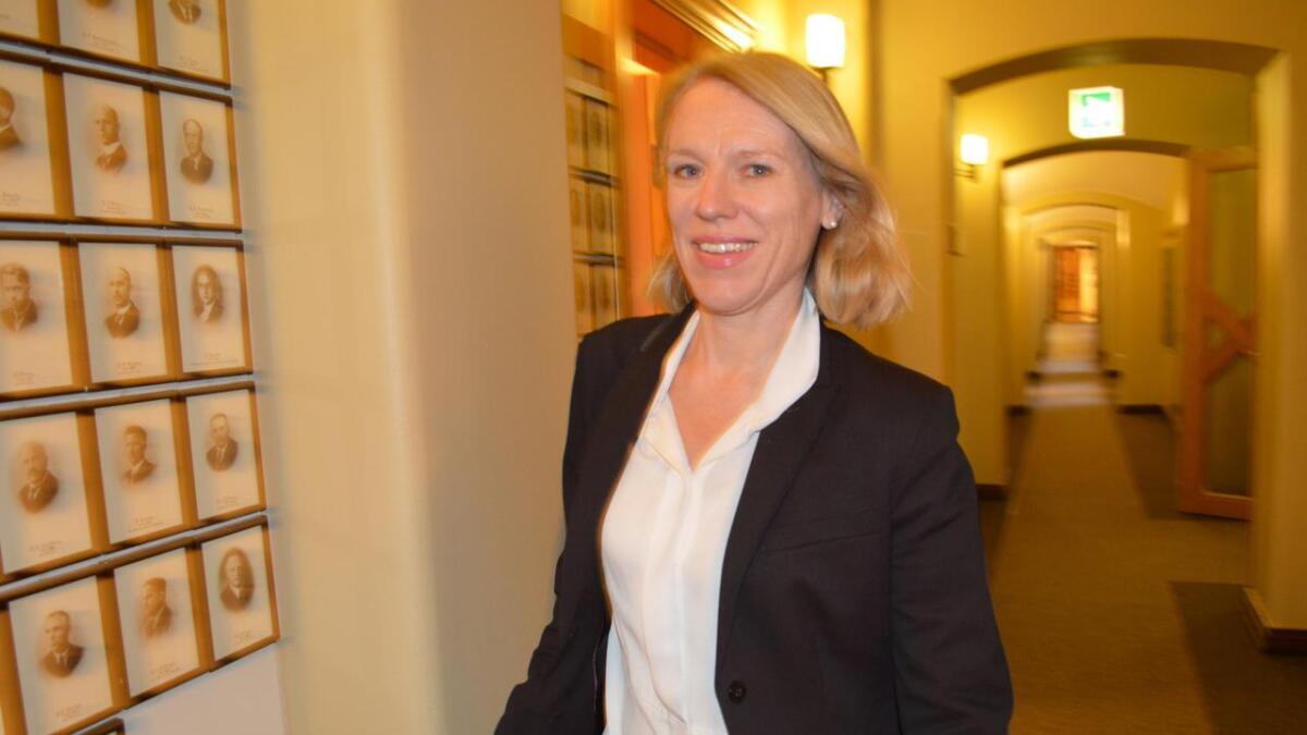 Ingen svar fra Aps forsvarspolitiske talsperson Anniken Huitfeldt før påske. (arkivfoto)