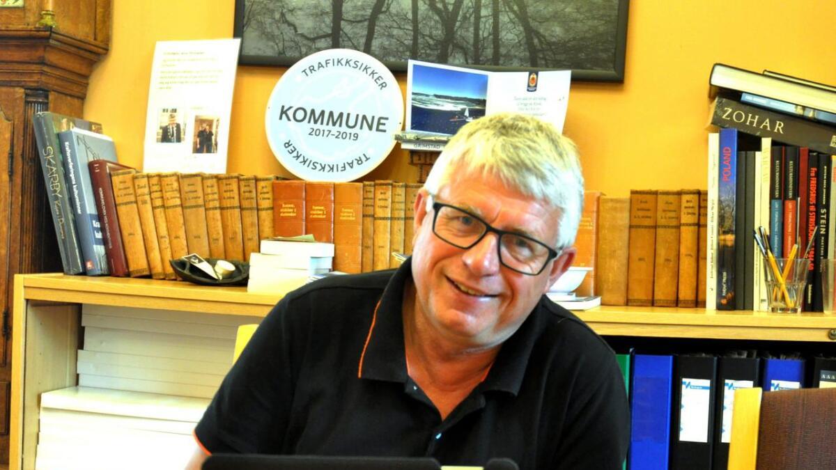 Arne Thomassen er en travel mann.