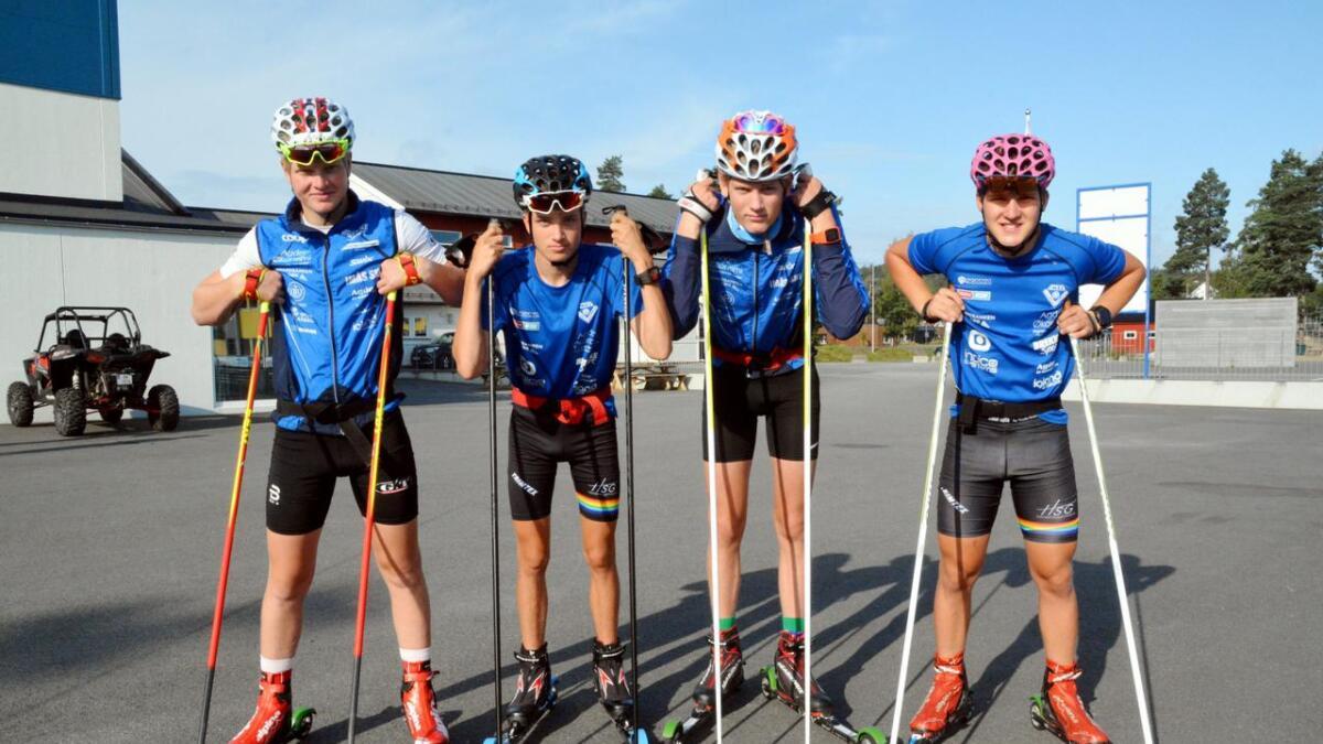 Jan Ronny Guldbrandsen, Robin Sælen, Thomas Blom og Aadne Mykland flytter for å bli bedre langrennsløpere. Førstnevnte skal til Meråker, og de tre andre skal til Hovden.