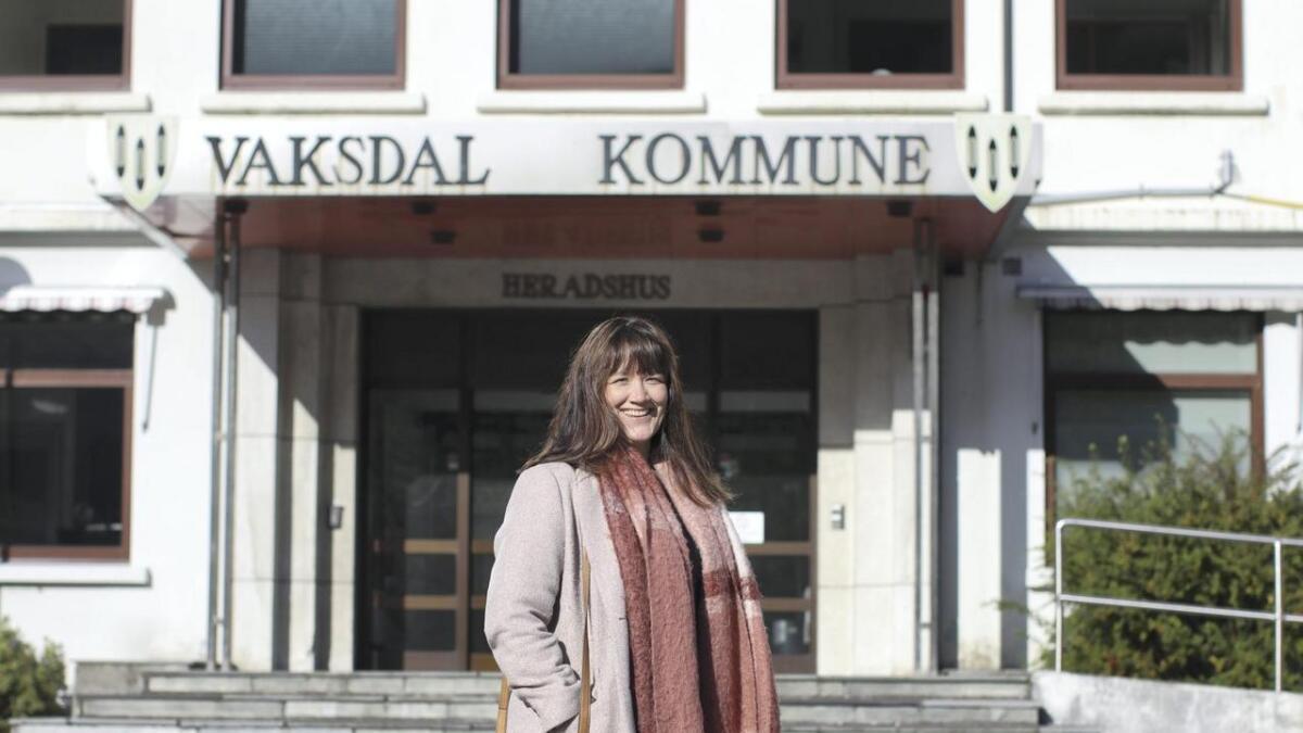 Hege Eide Vik (Sp) vert ny ordførar i Vaksdal kommune.