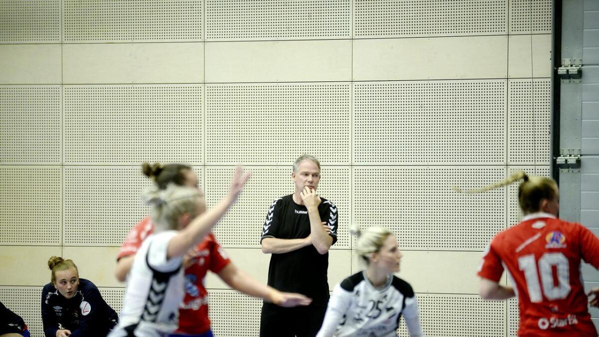 Gjerpen-trener Pål Oldrup Jensen var fornøyd etter kampen.