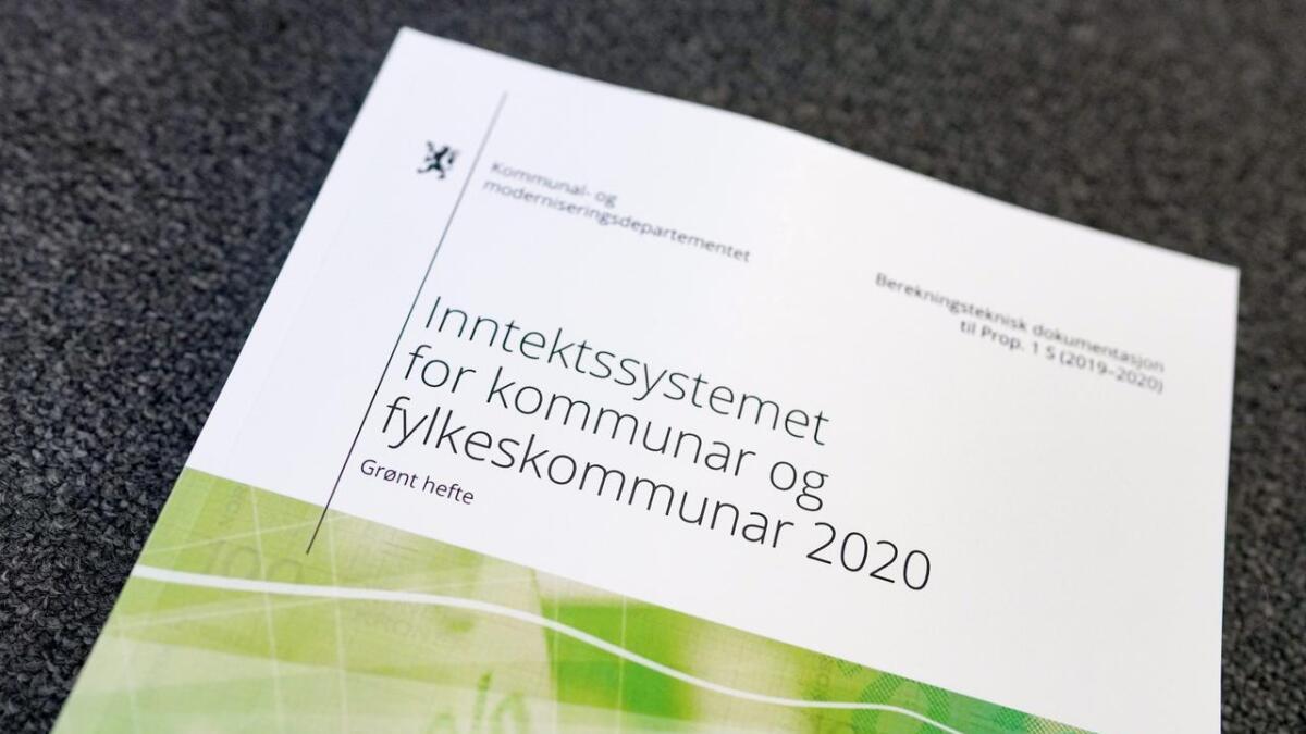 Statsbudsjettet 2020 vart lagt fram på Stortinget måndag formiddag.