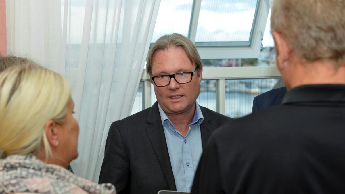 Einar Holmer-Hoven (H) er ikke bekymret for å gi dispensasjoner i allerede privatiserte hytteområder.   Arkiv