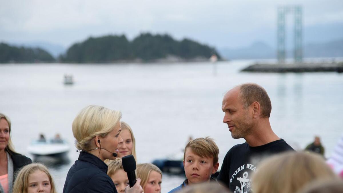Stiftingsdirektør og storabu Haakon Vatle gler seg over Enova-støtta som får «Lehmkuhl» over på batteridrift.