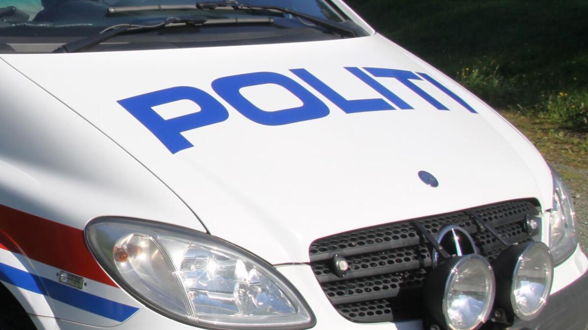 Politiet melder om eit trafikkuhell i Lysefjorden.