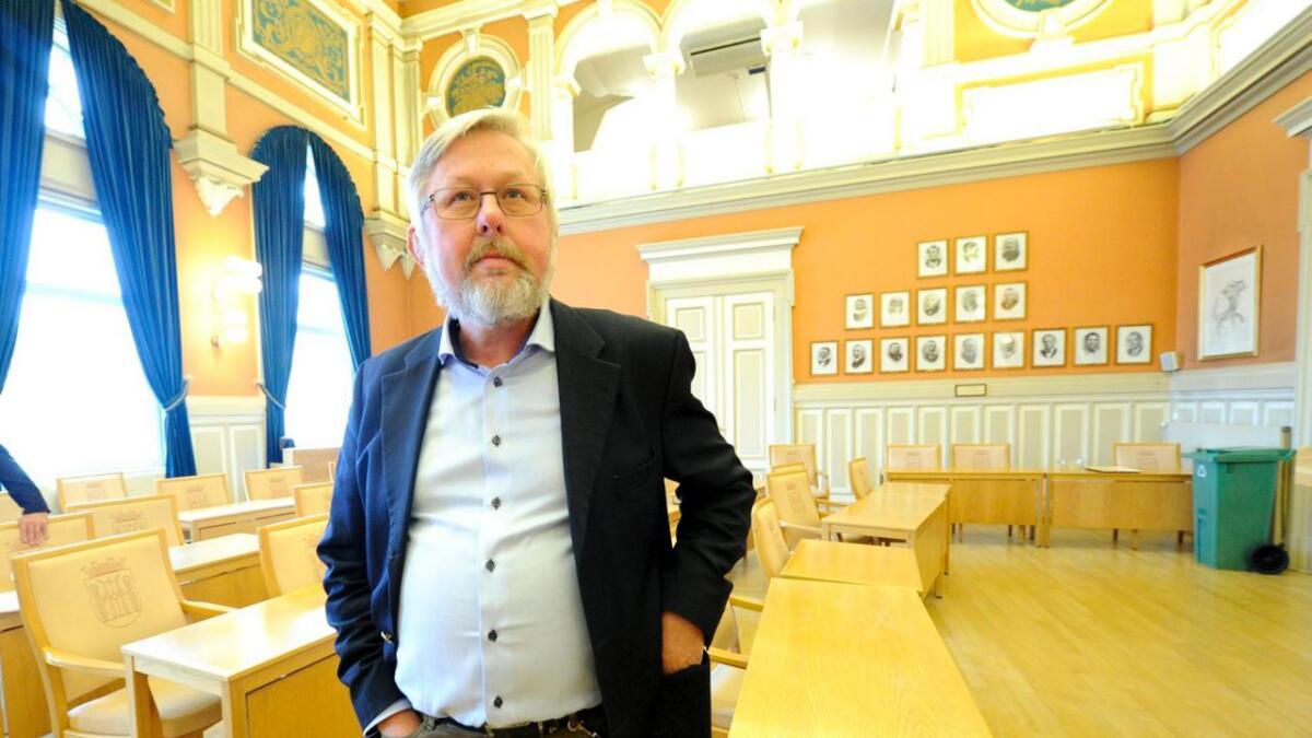 Skien Høyres gruppeleder, Jan Terje Olsen.