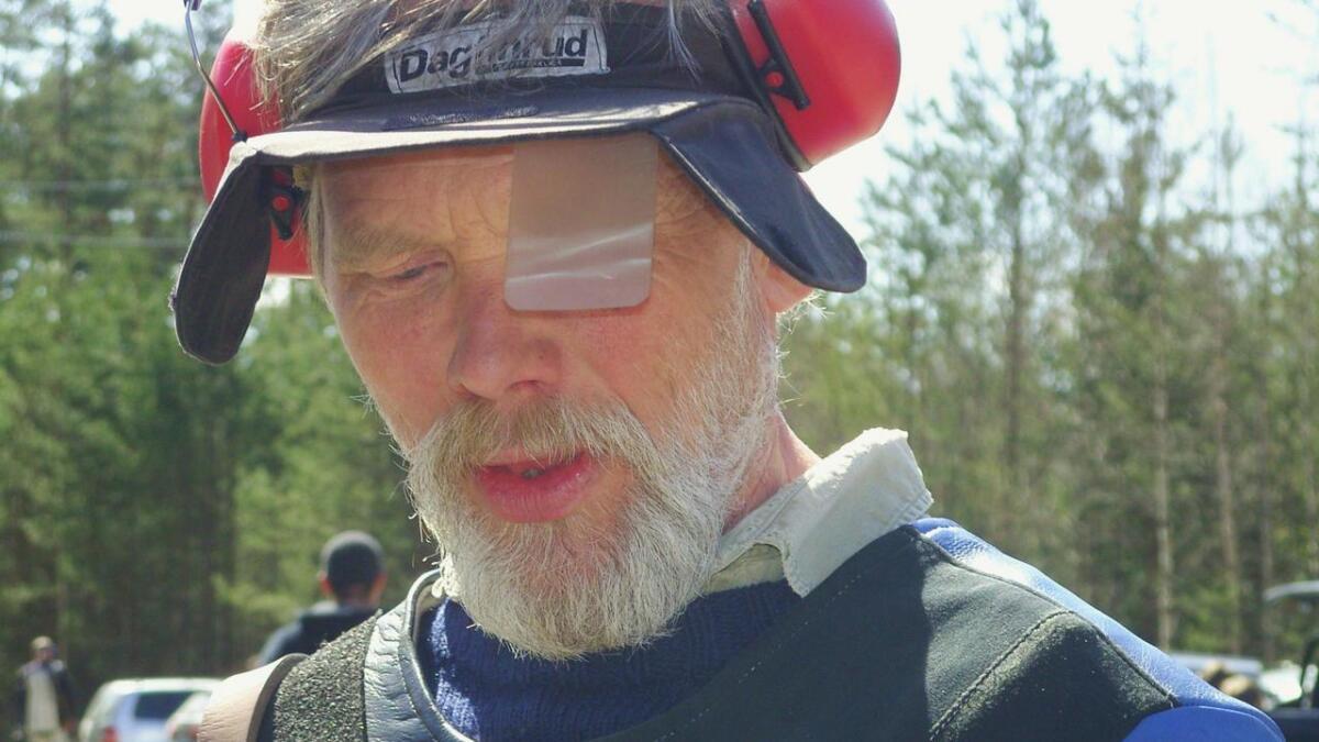 Thor Vigre var fokusert under feltskytingen på Evje. Det endte med 27 treff. Arkivfoto