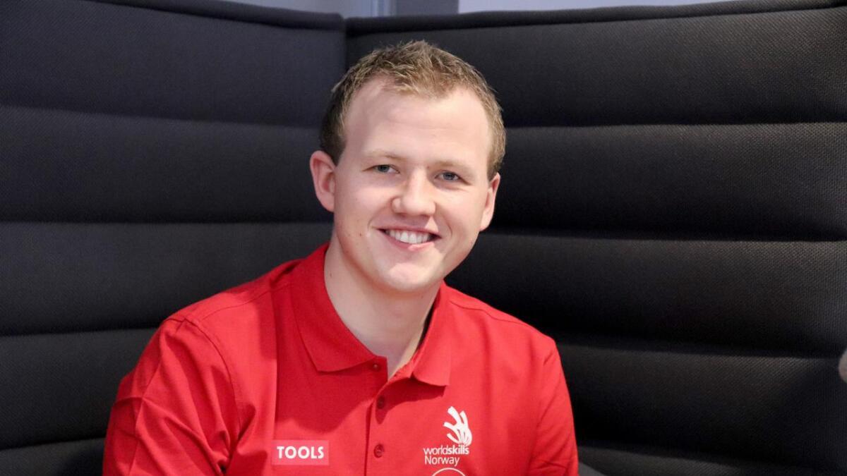 Jon Sindre Lund Gabrielsen representerer Norge under yrkesfag-VM