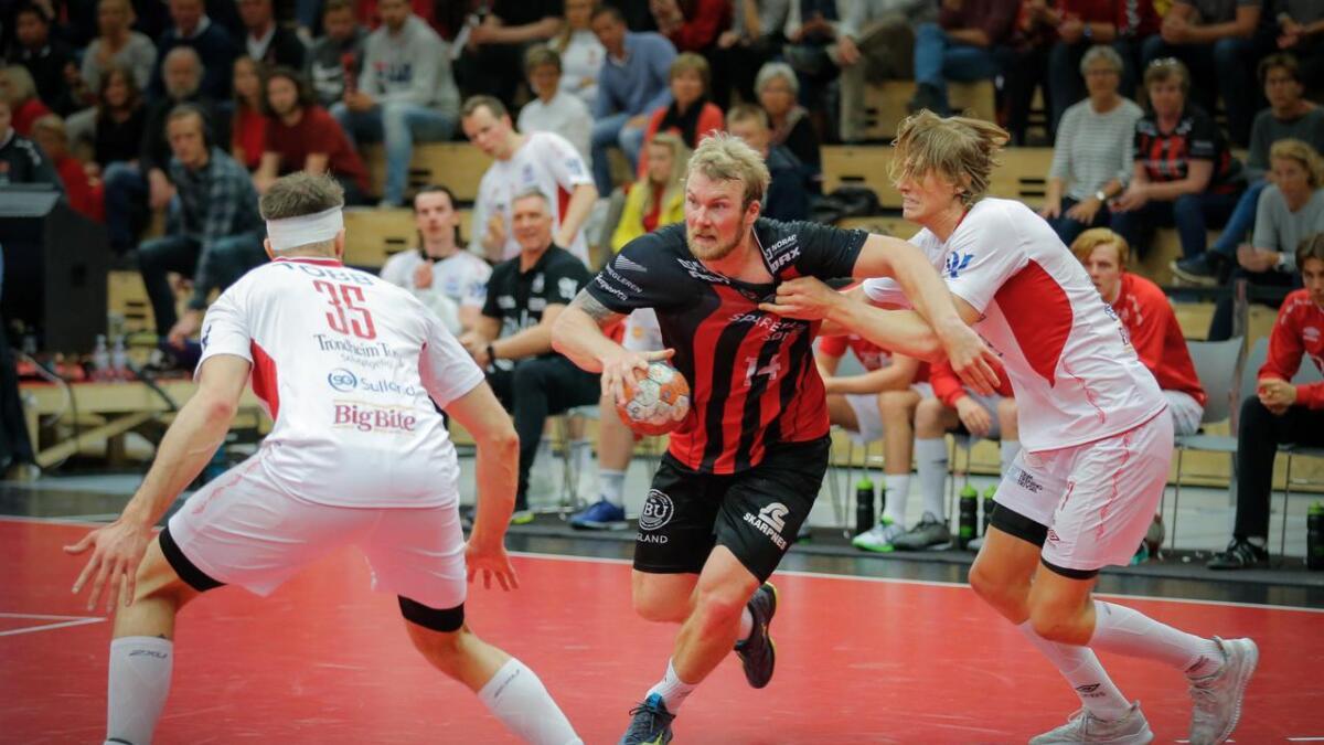Kaptein Eirik Heia Pedersen og ØIF kan sikre finalebillett med seier søndag.
