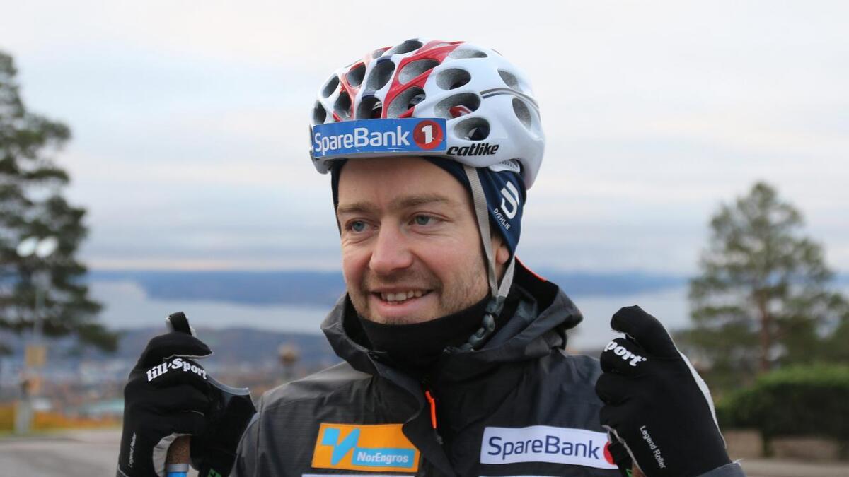 Sjur Røthe er ny ambassadør for MOT.
